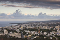 Cityscape viewed from La Montagne, St. Denis, Reunion Island von Panoramic Images