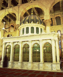 Interiors of a mosque by Panoramic Images