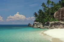 Rocks on the beach, Pulau Dayang Beach, Malaysia by Panoramic Images