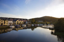 River Barrow and Weir, Graiguenamanagh, County Carlow, Ireland by Panoramic Images