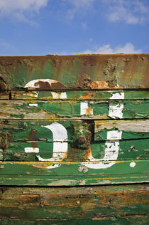 Old Fishing Boat, Cheekpoint, County Waterford, Ireland by Panoramic Images