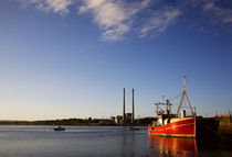 Greatisland Powerstation from Cheekpoint Harbour by Panoramic Images