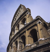 Low angle view of the Colosseum, Rome, Italy by Panoramic Images