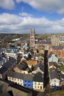 View from St Anne's Church Steeple to St Mary's Pro Cathedral von Panoramic Images