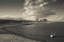 Ghost town on a coast, Salton Sea, Salton City, Imperial County, California, USA by Panoramic Images