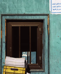 Close-up of a window, Egypt von Panoramic Images