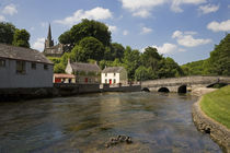 The Awbeg River and Bridge, Castletownroche, County Cork, Ireland von Panoramic Images