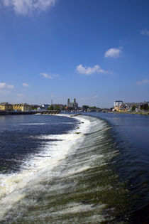 Salmon Leap Weir, Athlone, County Roscommon, Ireland by Panoramic Images