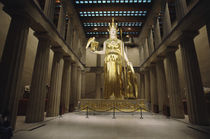 Statue of the Greek Goddess Athena von Panoramic Images