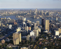 Aerial view of a city, Sydney, Australia von Panoramic Images