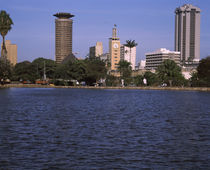 Park at the lakeside, Uhuru Park, Nairobi, Kenya von Panoramic Images