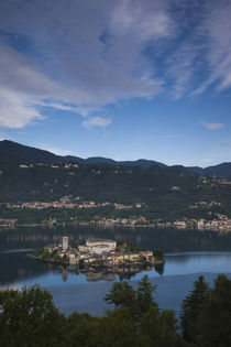 Town on an island by Panoramic Images