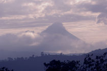 Clouds over a volcanic mountain, Arenal Volcano, Guanacaste, Costa Rica by Panoramic Images