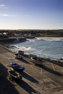The Fishing Harbour, Ardmore, Co Waterford, Ireland by Panoramic Images