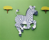 Illustration zebra by Panoramic Images