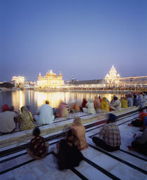 The Golden Temple, holiest shrine in the Sikh religion, Amritsar, Punjab, India by Panoramic Images