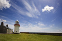 Ballynacourty Lighthouse, Co Waterford, Ireland von Panoramic Images