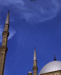 Low angle view of a mosque, Cairo, Egypt von Panoramic Images
