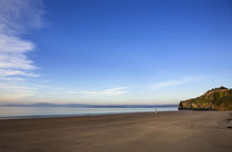 Arthurstown Beach, Overlooking Waterford Harbour, Co Wexford, Ireland von Panoramic Images