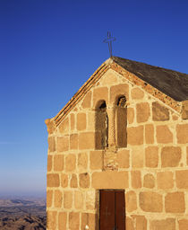 Low angle view of a chapel by Panoramic Images