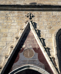 Architectural details of a church, Jerusalem, Israel by Panoramic Images