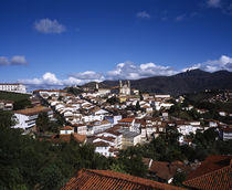 High angle view of a city, Ouro Preto, Minas Gerais, Brazil by Panoramic Images