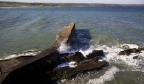 The Fishing Harbour Pier, Ardmore, Co Waterford, Ireland von Panoramic Images
