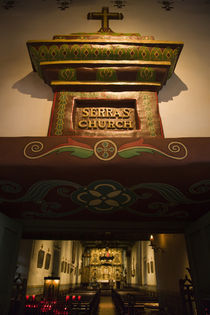 Entrance of a chapel von Panoramic Images