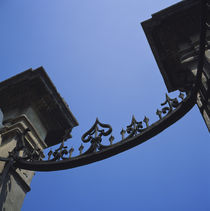 Low angle view of a gate, Rome, Italy von Panoramic Images