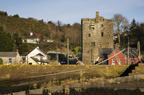 15th Century Ballyhack Castle (Keep) and Harbour, Co Wexford, Ireland von Panoramic Images