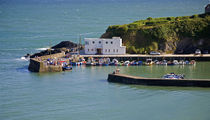 Boatstrand Harbour, Copper Coast, County Waterford, Ireland von Panoramic Images