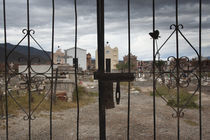 Entrance of a cemetery, Cachi, Salta Province, Argentina by Panoramic Images
