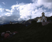 Church on a hill von Panoramic Images