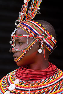 Samburu dancer by Beate Dalbec