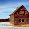 Log-farm-house