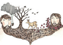 Beard Tree von Brooke Weeber