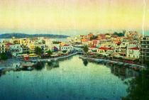 Agios Nikolaos - Greece von Mina Teslaru