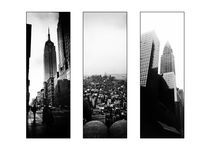 New York Triptych by Mark Nelson