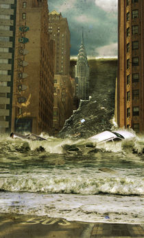 Water vs City von Steve McGhee