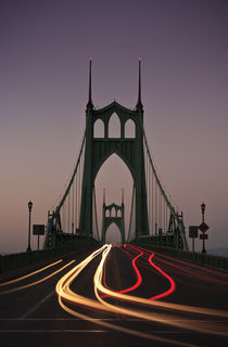 St. Johns Bridge, Portland, Oregon by Cameron Booth