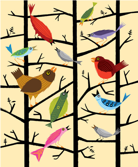 Birdsartflakes-01