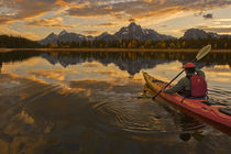 Paddle near the Tetons by Scott Spiker
