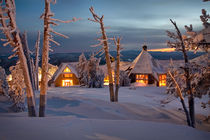 Winter Lodge by Scott Spiker