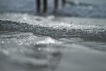 Feet In The Ocean by Bashar A
