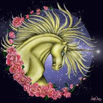 Golden Unicorn by Ash Evans