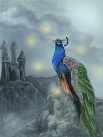 Peacock Fantasy  by Ash Evans