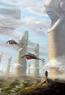 Gliese 876 d by Sebastian  Schulz