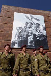 Jerusalem, Holocaust Memorial Day at Yad Vashem by Hanan Isachar