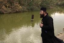 Qasr al Yahud, the place of Jesus' baptism by John the Baptist at the Jordan River by Hanan Isachar
