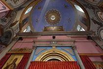 The Ethiopian Orthodox Church in West Jerusalem by Hanan Isachar
